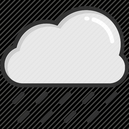 cloud, forecast, nature, raining, weather icon