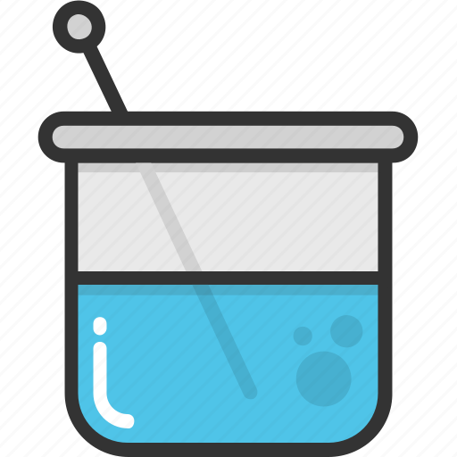 beaker, chemical, experiment, laboratory, science icon