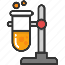 lab, lab test, research, sample, test tube icon