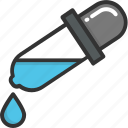 chemical, dropper, laboratory, pipette, sample icon