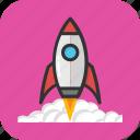 launch, missile, rocket, spacecraft, spaceship