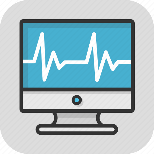 cardiology, ecg, ekg, healthcare, lifeline icon