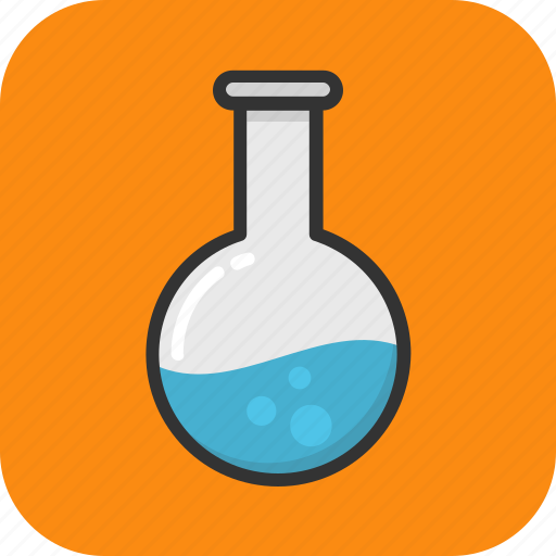 chemical, chemistry, flask, laboratory, research icon