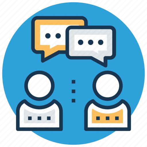 communication, consulting, discussion, speech, talk icon