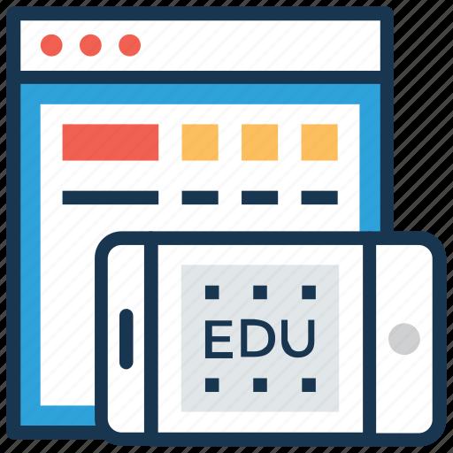 academic apps, digital education, education apps, education technology, modern education icon
