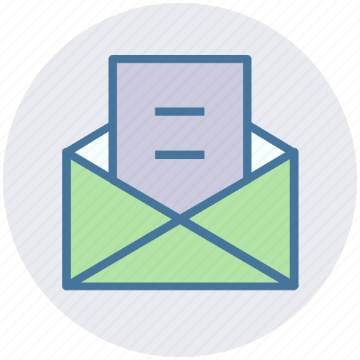 email envelope letter open open envelope open letter icon