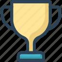 award, cup, education, trophy, winner icon