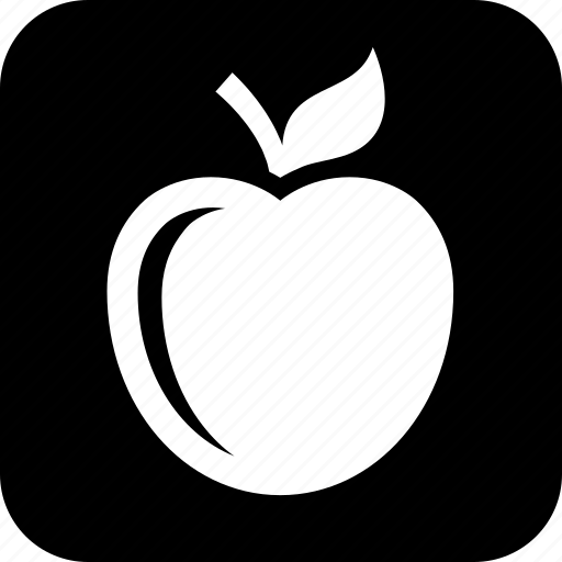 apple, diet, food, fruit, nutrition, snack icon
