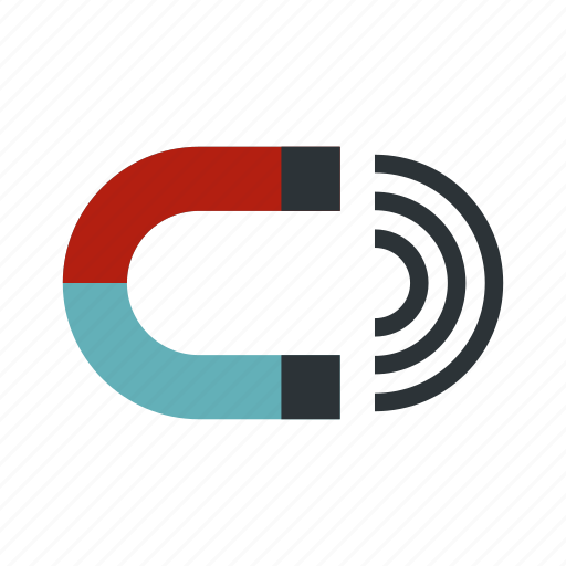 attraction, horseshoe, magnet, magnetic, metal, polarity, technology icon