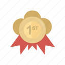archievment, education, grade, medal, ranking, reward, top, win, winner icon
