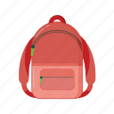 bag, children, container, education, junior, packing, playground, school, student icon