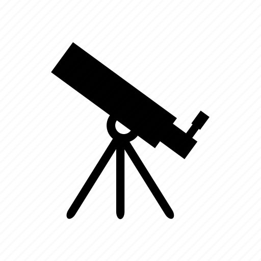 astrology, astronomy, science, telescope icon