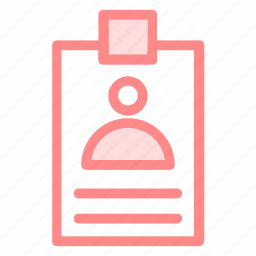card, id, identification, identity, profileicon icon
