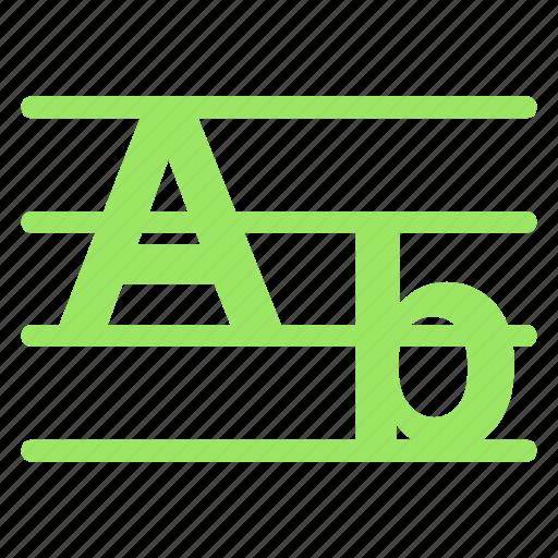 alphabet, english, languageicon icon