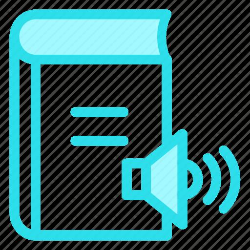audiobook, audiobookconcept, audioliterature, ebook, musicbookicon icon