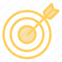 business, center, commerce, dart, diana, nailed, sport, target icon