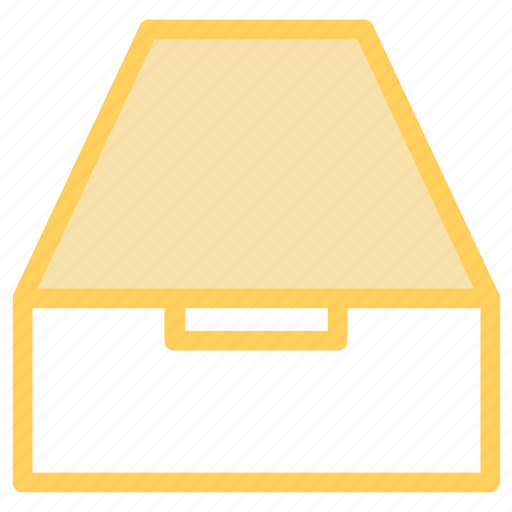 archive, box, document, drawers, office icon