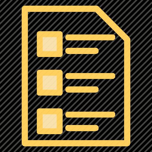 file, files, interface, list, lists, symbol, symbols icon