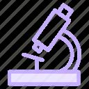 laboratory, microscope, science, scientific icon