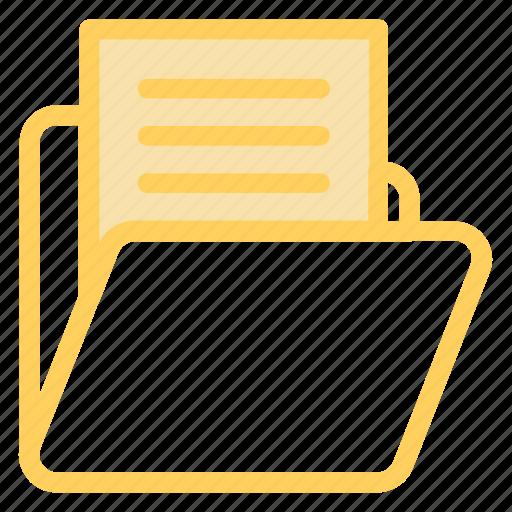 document, documents, file, files, folder, foldervariant, openfolder icon