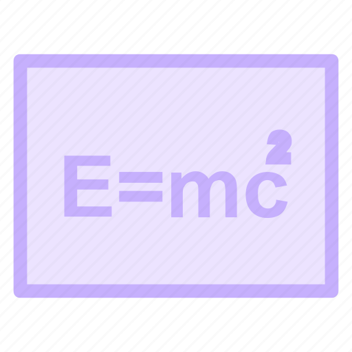 blackboard, formula, mathematics, maths, physics, science icon