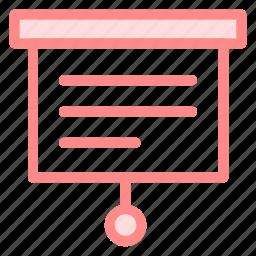 board, linegraphic, presentation, statistics, stats icon