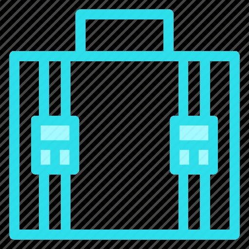 baggage, bookbag, luggage, suitcase, travelling icon