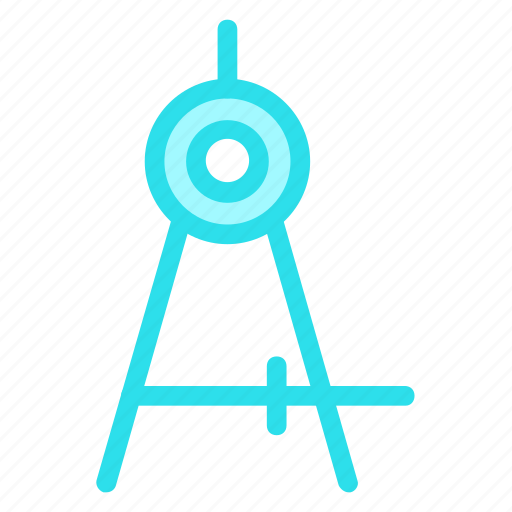 circles, circular, drawing, mathematical, tool icon