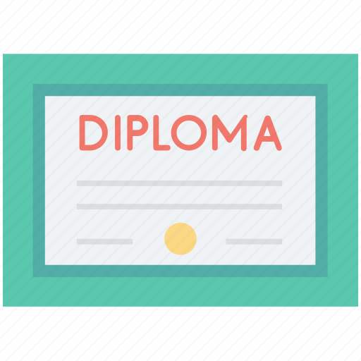 achievement, certificate, certification, degree, diploma icon