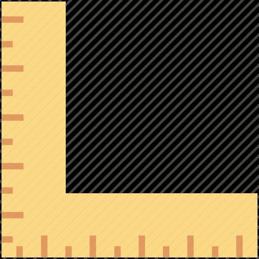 angle, angle ruler, corner, measure, ruler icon