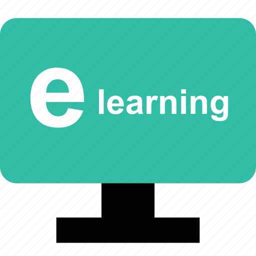 digital, e, education, electronig, learn, learning, school icon