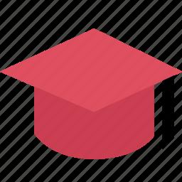 cap, education, graducation, learning, school, student icon