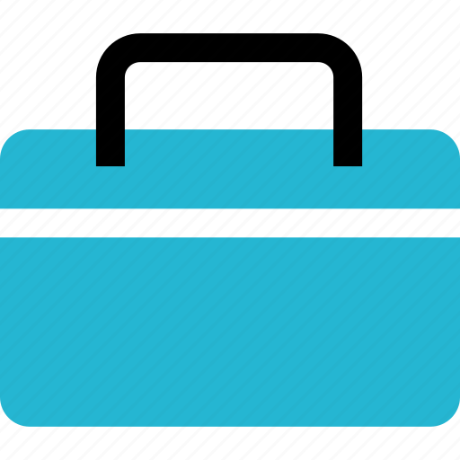 briefcase, case, education, learning, professional, school icon