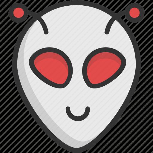 alien, avatar, creature, monster, space icon