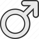 boy, gender, male, sex symbol icon
