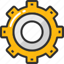 cog, customize, gear, preferences, setting icon