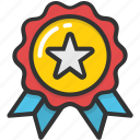 achievement, award, badge, reward, winner icon