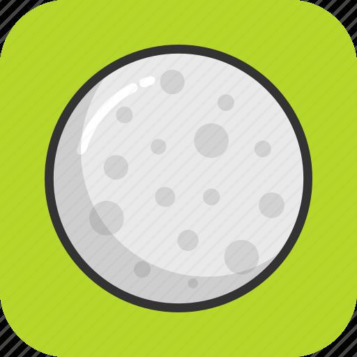 full moon, galaxy, moon, planet, sun icon
