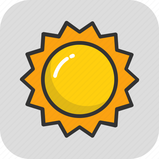 day, morning, nature, sun, sunlight icon