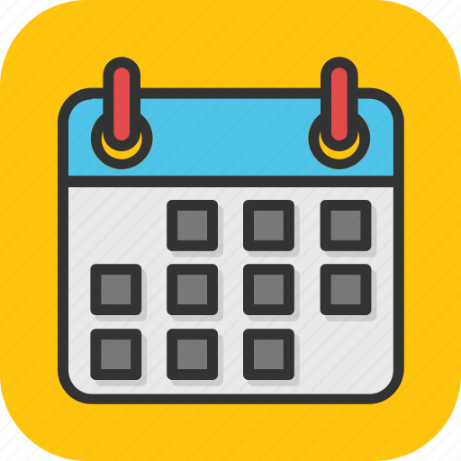 calendar, date, event, schedule, timetable icon