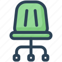 chair, class, education, furniture, school, seat icon