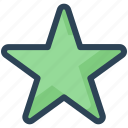 achievement, bookmark, education, favorite, star icon