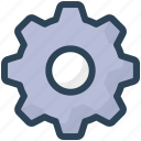 education, gear, options, settings icon