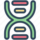 biology, dna, education, lab, science icon