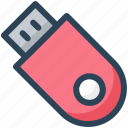 device, education, flash, memory, pendrive, usb icon