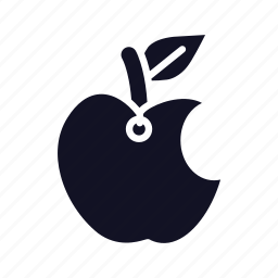 apple, computer, device, food, mobile, phone, technology icon