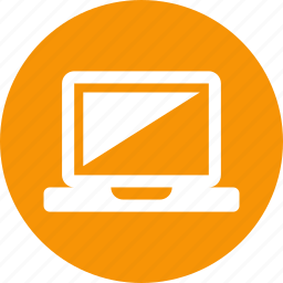 computer, laptop, monitor, notebook, screen, technology icon