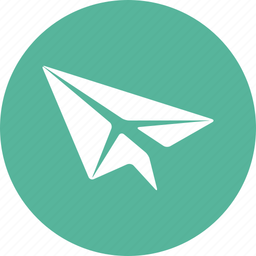 airplane, email, fly, mail, origami, paper, send icon