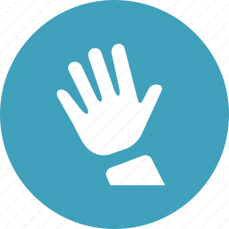 ask, hand, learning, question, raised, school, student icon