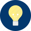 business, concept, design, idea, lamp, light icon